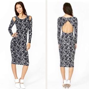 Nasty Gal Dresses - Nasty Gal Black Cat Fight Bodycon Dress